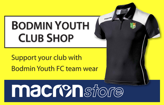 Bodmin Youth FC club shop